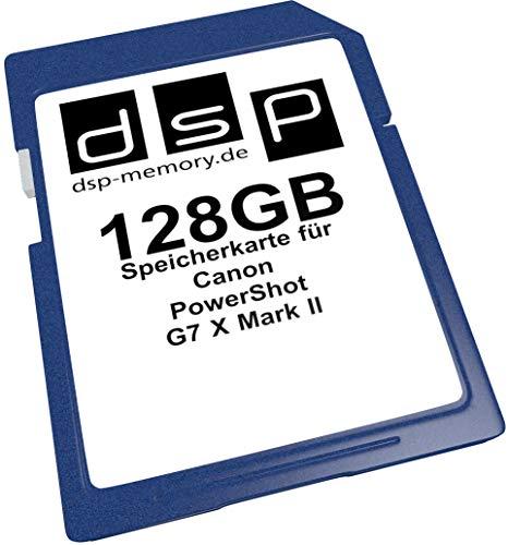DSP Memory Z-4051557437203 128GB Speicherkarte für Canon PowerShot G7 X Mark II