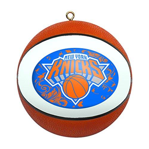ew York Knicks Replica Basketball Ornament ()