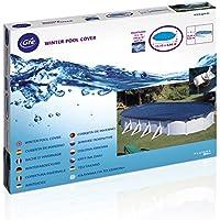 Gre CIPROV731 - Cubierta de invierno para piscinas ovaladas, 730 x 375 cm
