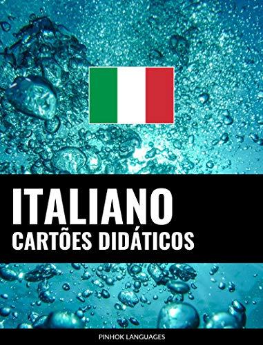 Cartões didáticos em italiano: 800 cartões didáticos importantes de italiano-português e português-italiano (Portuguese Edition)