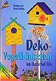 Deko-Vogelhäuschen im Material-Mix