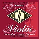 Rotosound Jeu de cordes pour violon Filet plat (Import Royaume Uni)