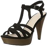 Bianco Damen Strappy Sandal 20-49214 Plateausandalen, Schwarz (Black), 39 EU