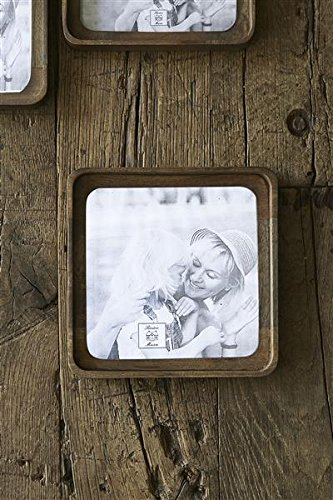 Maverick Photo Frame 20x20/ Bilderrahmen Holz - Maverick Glas
