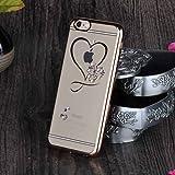 Unendlich U Hohles Herz Transparente Handy Zubehör Weiche Silikon Schutzhülle für iPhone 6 und für iPhone 6s 4,7 Zoll - 2