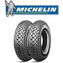 Par neumáticos Michelin S83para Piaggio Vespa Cosa Squire Sidecar 200Michelin tamaño: 100/90–1056J Dot 2016