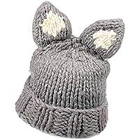 Vovotrade∮ Simpatico Cappello di Lana Lavorato a Maglia con Cappuccio Caldo c6a6678c327f