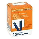 GLUCO TEST Blutzuckerteststr 25 St Teststreifen