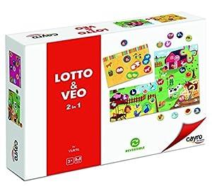 Cayro-Lotto y Veo 2en 1-Juego de Tablero, 881