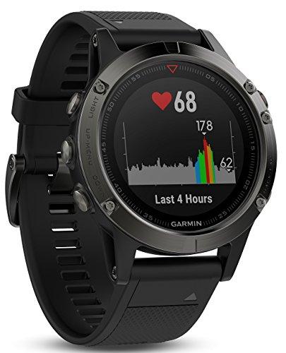 Garmin Fenix 5 de Multi Sport de GPS de Reloj con Exterior de navegación y muñeca basada en frecuencia cardíaca