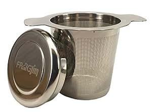 teesieb f r tasse und kanne aus hochwertigem 18 8 edelstahl mit deckel sehr. Black Bedroom Furniture Sets. Home Design Ideas