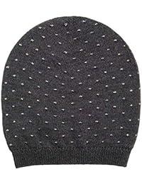 Gallo Cappello Calotta in Lana con Micro Pois in Lurex AP500527 Lavagna 74d818dd02d9