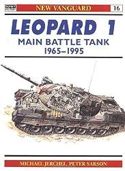 Leopard 1 Main Battle Tank 1965-95 (New Vanguard) by Michael Jerchel (1995-09-11)