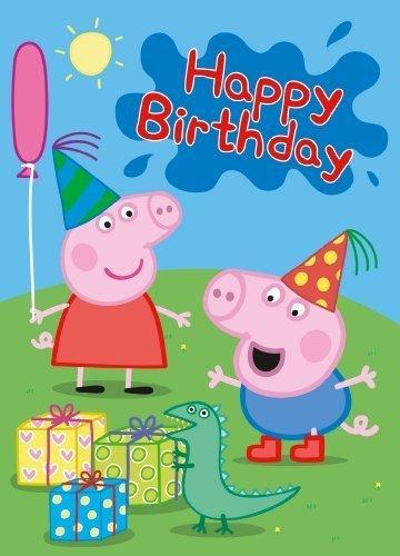 Peppa Pig Happy Birthday Karte (Peppa Pig-happy Birthday)