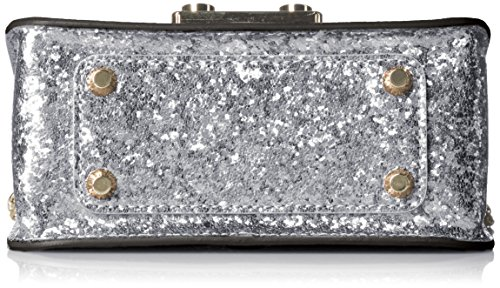 FURLA - Metropolis Mini Crossbody, Borsa a tracolla donna Silver (Color Acciaio)