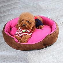 Suministros para camas Perrera de Peluche extraíble y Lavable de Cuatro Estaciones litera Universal para Mascotas