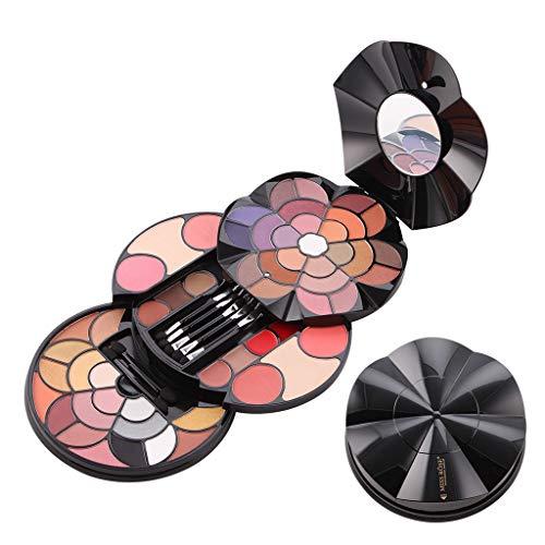 OYSOHE Makeup Fach - 57 Farbe Blütenblätter Make Up Platten - 43 Farbe Lidschatten - 4 Farben...