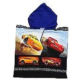 PONCHO Mare Cars Saetta McQueen Cruz Ramirez Asciugamano Accappatoio Poliestere CM. 50x100 - SE1776/2