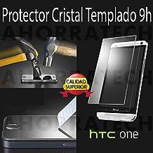 Protector pantalla cristal templado para HTC ONE (M7), film templado, vidrio templado ULTRA RESISTENTE y GRAN CALIDAD de AHORRATECH