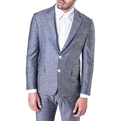 TWO ITALIAN BOYS - Uomo Blazer 2 Bottoni Grey Melange Grey