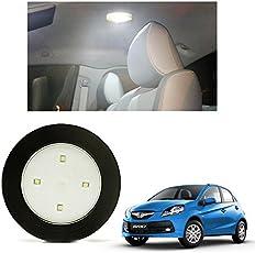 VheeloCityin Car Push Button Stick Roof, Trunk Light/Car Reading Light for Honda Brio