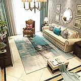 Aishankra Anti Rutsch Teppich Europäischen Stil Bereich Teppiche Persönlichkeit Matratze,2,2'6''X5'2''/80X160CM