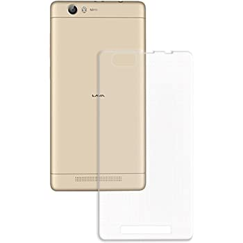 Casotec Soft TPU Back Case Cover for Lava A97 - Clear