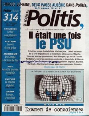 NOUVEAU POLITIS (LE) [No 314] du 01/12/1...