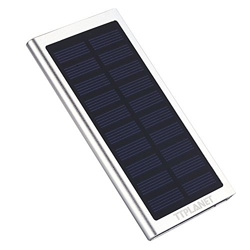 Cargador solar, ultrafino, 20000mAh, USB dual, para portátil, iPhone 6S/6Plus, 5S, 5,...