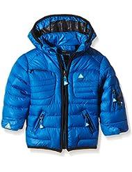 Peak Mountain Lecapti - Chaqueta para niño, color azul, tamaño 6 meses