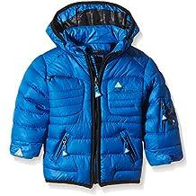 Peak Mountain Lecapti - Chaqueta para niño, color azul, tamaño 24 meses