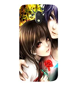 SAMSUNG J7 PRO 2017 CUTE COUPLE PRINTED BACK CASE COVER by SHAIVYA