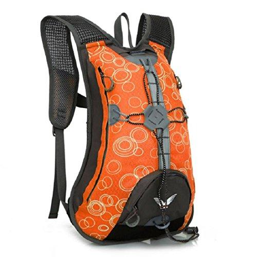 Z&N Backpack Leichte 15L KapazitäT Hochwertiges Nylon Fahrrad Mountainbike Reitrucksack MäNner Und Frauen Outdoor Sporttasche Bergsteigen Tasche Freizeit Rucksack B