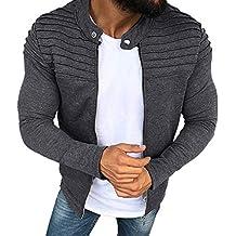 Hombre chaqueta cárdigan invierno otoño,Sonnena hombre chaqueta moda estilo manga larga guapo hombre Doblar