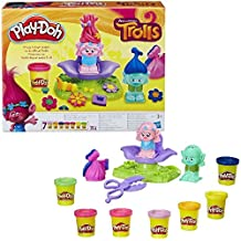 Play-Doh - La peluquería de trolls (Hasbro B9027EU4)