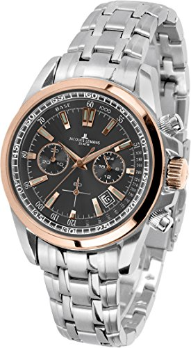 41e627b0d7a2 Jacques Lemans Liverpool – Reloj de pulsera analógico de cuarzo Acero  inoxidable 1 – 1117.1pn