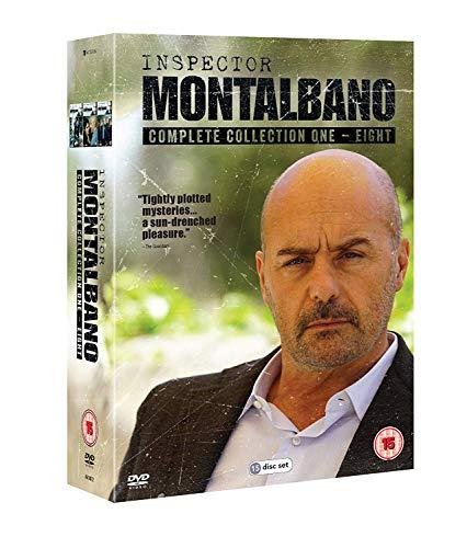Inspector Montalbano - Collection 01-08 (15 Dvd) [Edizione: Regno Unito] [Ita]