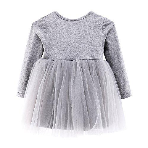 Baby Mädchen Kleid Prinzessin Hochzeit Taufkleid Blumenmädchen Festlich Kleid Kleinkind Festzug (Kleinkind Prinzessin Kleid)