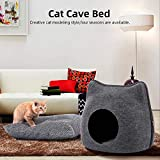 Weehey Cat Pet Cave Cat Cave Bed Lettino per Gatti Kittens Pets
