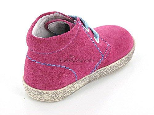 Naturino  233 fuxia, {Chaussures premiers pas pour bébé (garçon) Vert Vert Rose - Rose