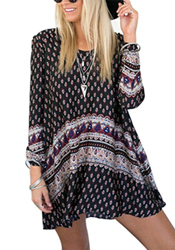 davidlove-women-long-sleeve-summer-mini-dress-printing-beach-cover-up-xl12-14-printing