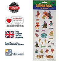 Fraggle Rock Stickers 3D 4001