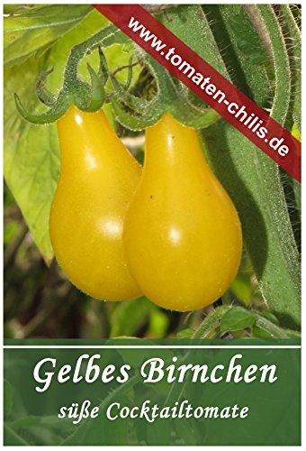 Tomaten Samen - 15 Stück - Gelbes Birnchen - Cocktailtomate