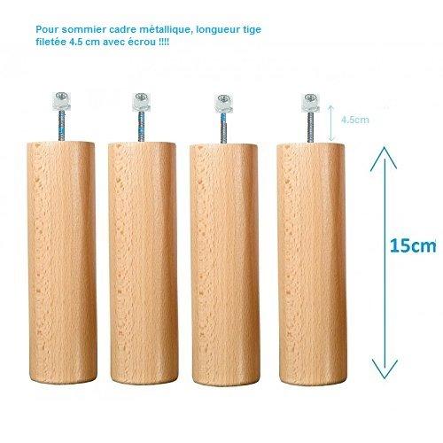 Atelier-de-Morphee-Patas-para-somier-de-metal-longitud-15-cm-varilla-roscada-tuercas-45-cm