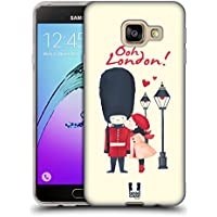 Head Case Designs Embrassez Une Garde De La Reine Je Rêve Londres Étui Coque en Gel molle pour Samsung Galaxy A3 (2016)