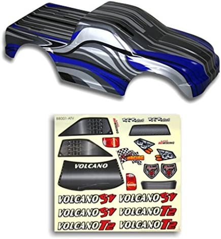 Redcat Racing Truck Body Noir et Bleu Bleu Bleu (1/10 Scale)   Bradées  b046b9