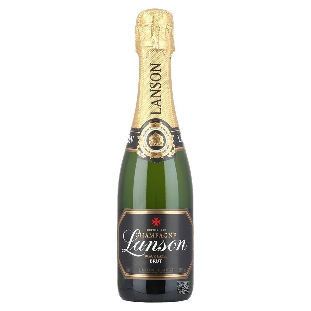 Lanson Black Label Brut NV Champagne 37.5cl Half Bottle