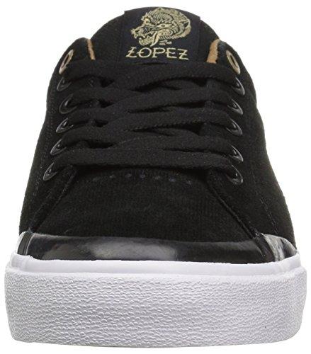 C1rca Lopez 50r, Sneakers Unisexe-adulte Noir / Or