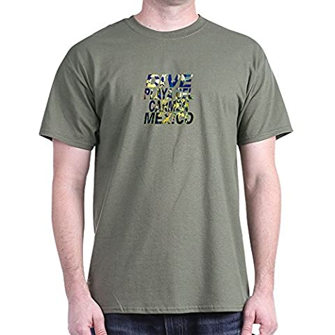 CafePress - Dive Playa Del Carmen Mexico - 100% Cotton T-Shirt