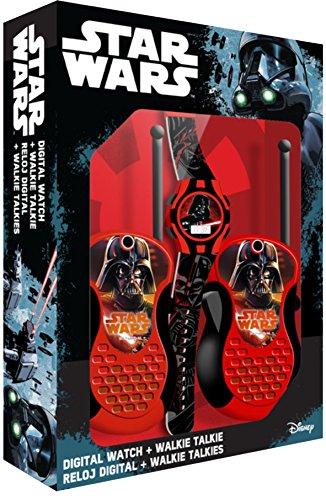 Kids Licensing–sw92336–Set Geschenk Star Wars–Walkie Talkie & Digitaluhr